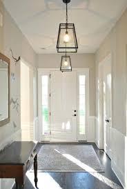 brushed nickel foyer light brushed nickel three light cage foyer pendant progress lighting torino collection 3