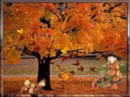 Znalezione obrazy dla zapytania jesień wogrodzie wiersz