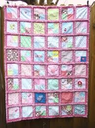 Custom Memory Rag Quilt from YOUR Baby Clothes 48 X 64 FREE & Custom Memory Rag Quilt from YOUR Baby Clothes 48 X 64 FREE SHIPPING Adamdwight.com