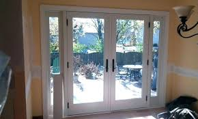 replace sliding door with french doors latch repair window screen sizes cost of replacing bay do