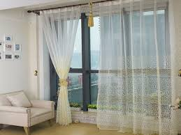 Bedroom: White Bedroom Curtains Luxury Bedroom Or Living Room White Sheer  Curtains With Light Yellow