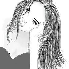 Faciles tumblr faciles dibujos en blanco y negro de chicas, картинки девушек для срисовки карандашом (30 рисунков, imágenes de amor para descargar, imprimir y colorear, cómo dibujar una boca: Dibujos A Blanco Y Negro About Home Facebook