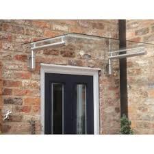modern glass over door canopy 1440 x 800