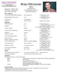 brian klimowski resume