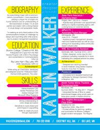 Kaylin Walker Amazing Resume