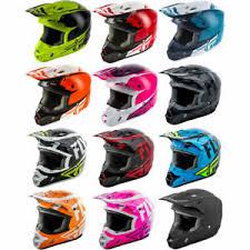 Details About 2019 Fly Racing Adult Kinetic Motocross Dirt Bike Helmet Pick Size Color