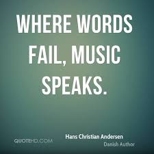 Quotes By Christian Authors Best of Hans Christian Andersen Music Quotes QuoteHD
