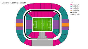 Ekaterinburg Arena Seating Chart 2018 Fifa World Cup News Ticket Categories Fifa Com