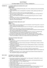 Resume Specialists Program Specialist Resumes Magdalene Project Org