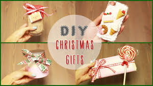 Diy 5 Easy Diy Christmas Gift Ideas Ilikeweylie Youtube Cute Diy Gifts For Your Parents