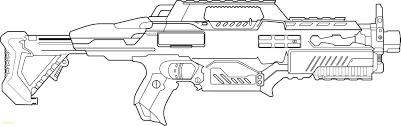 Coloring Pages Coloring Pages Nerf Gunble M16 Free Of Phenomenal