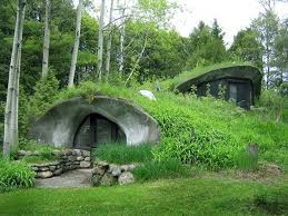 Simple Underground Home On New Earth Sheltered Homes Organic Architecture