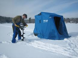 Image result for images of ice fishing