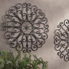 outdoor metal wall decor canada iron