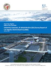 Lawa Org Chart Pdf Los Angeles World Airports Lawa Lax Industrial