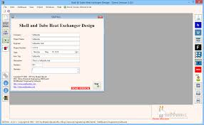 Shell And Tube Heat Exchanger Design Calculator Download Shell And Tube Heat Exchanger Design 3 3 0 0