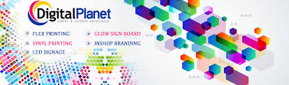 Bhopal Manufacturing led Signage Glow Planet In Sign Digital Flex Printing
