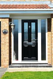 2 panel composite front door three glass panel front door panel front door full house of