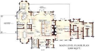 Rustic Log Cabin Floor Plans Attractive The H  LuxihomeLarge Log Cabin Floor Plans
