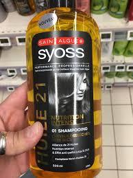 Sa composition lui permet d'absorber l'excès de sébum pour nettoyer les cheveux et le cuir chevelu sans les mouiller. Saint Algue Syoss Elixir Nutrition Shampooing Huile Cheveux Desseches Tres Secs Inci Beauty