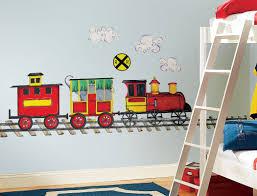 Kids Bedroom Wall Decor Remarkable Kids Bedroom Train Wall Decor Boys Bedrooms 11
