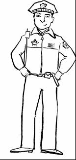 terrific coloring page policeman police officer with community    terrific coloring page policeman police officer   community helpers coloring pages and community helpers preschool theme