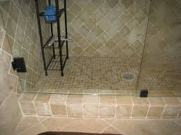 elegant bathroom design and decoration with tumbled marble tile shower wall astounding picture of bathroom