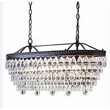 oil rubbed bronze crystal chandelier. Fine Oil Allen  Roth 4light Oilrubbed Bronze Crystal Chandelier Hardwired Home  Kitchen Bedroom For Oil Rubbed R