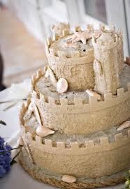 Summer Wedding Sand Castle Wedding Cake 2062713 Weddbook