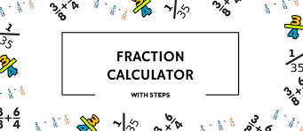 fraction calculator with steps 1