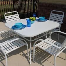 white outdoor patio furniture. aluminum solid surface matte white 40 outdoor patio furniture