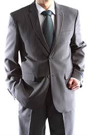 Mens Single Breasted 2 Button Charcoal 100 Polyester Pinstripe Slim Fit Dress Suit We Have More Braveman Suits Call 1 844 650 3963 To Order