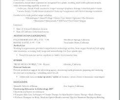 Sample Resume For Esthetician Resume Objective Resume Cover Letter