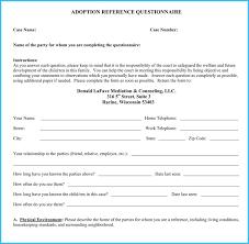 Letter Of Recommendation For Adoption Sample Sample Adoption Recommendation Letter Under Fontanacountryinn Com