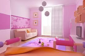 Pink Color Bedroom Interior Marvelous Kids Bedroom Decor Pink Color Nuance Cute Bed