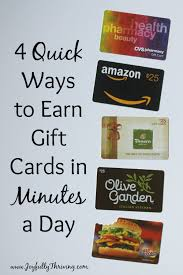 i love getting free gift cards great list of ideas that really work and