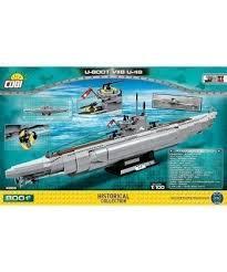 <b>Конструктор COBI</b> Подводная лодка <b>U</b>-<b>48</b> 800 деталей