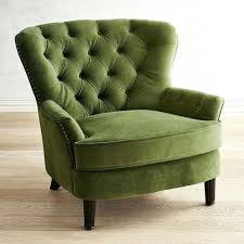 green armchair arm covers velvet lime ikea creative chair dfs shaped sofa laptop lap rest dining tables perth brown leather and ott set black chairs