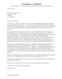 Cover Letter For Attorney Position Cover Letter Law School Legal