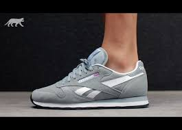 reebok classic leather suede baseball grey white