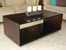 image of living room center table with storage