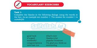 A fox and a goat. Pembahasan Soal Bahasa Inggris Kelas 10 Chapter 2 Task 1 Halaman 26 27 Saifullah Id