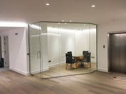 contemporary glass office. London Villa Ltd (London): Contemporary Glass Office