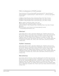 academic paper format latex templates academic journals