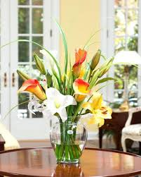 office floral arrangements. Various Calla Day Lily Silk Flower Accent Office Ideas Reception Arrangements Floral