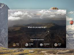 Trip Itinerary Builder Trabliss Travel Itinerary Builder Homepage By Varun