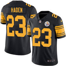 steelers Jerseys Haden 23 Shop Color Rush Joe Fan|Ranking The NFL's Top Safety Groups