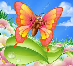 Mouche Dessin Une Illustration Dun Caractere Mignon De Papillon De Bande Dessinee Dans L L L L L L L L L L L