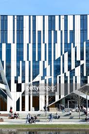 office facade. interesting facade detail of the facade office and commercial building kbogen architect  daniel libeskind knigsallee dsseldorf rhineland north rhinewestphalia germany europe  in r