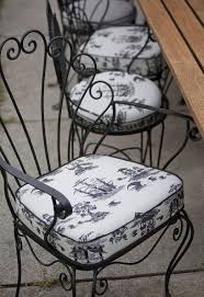 seat cushions for outdoor metal chairs. french photos. wrought iron chairswrought garden seat cushions for outdoor metal chairs e